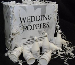 72pc Wedding Party Poppers
